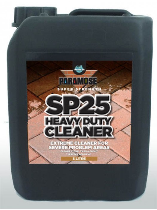 Paramose SP25 Heavy Duty Cleaner - Super Strength - 5 Litres