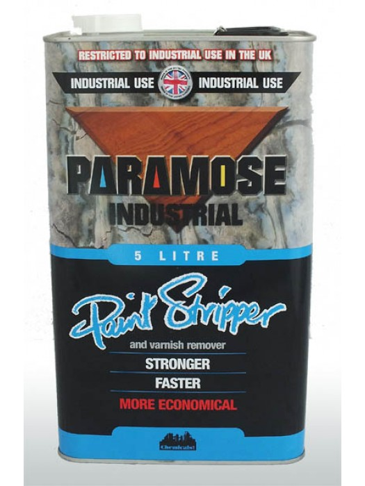 Paramose Industrial Paint and Varnish Remover THIN - 5 Litres
