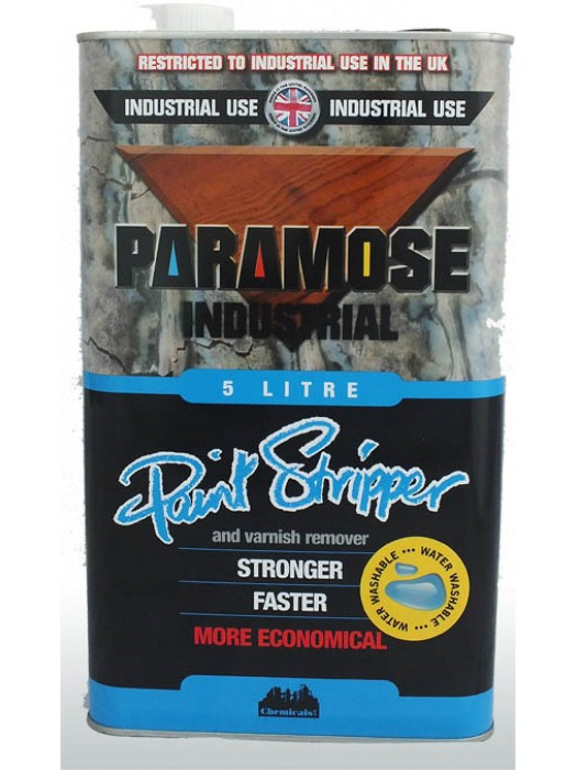 Paramose Industrial Paint and Varnish Remover - THICK - 5 Litres